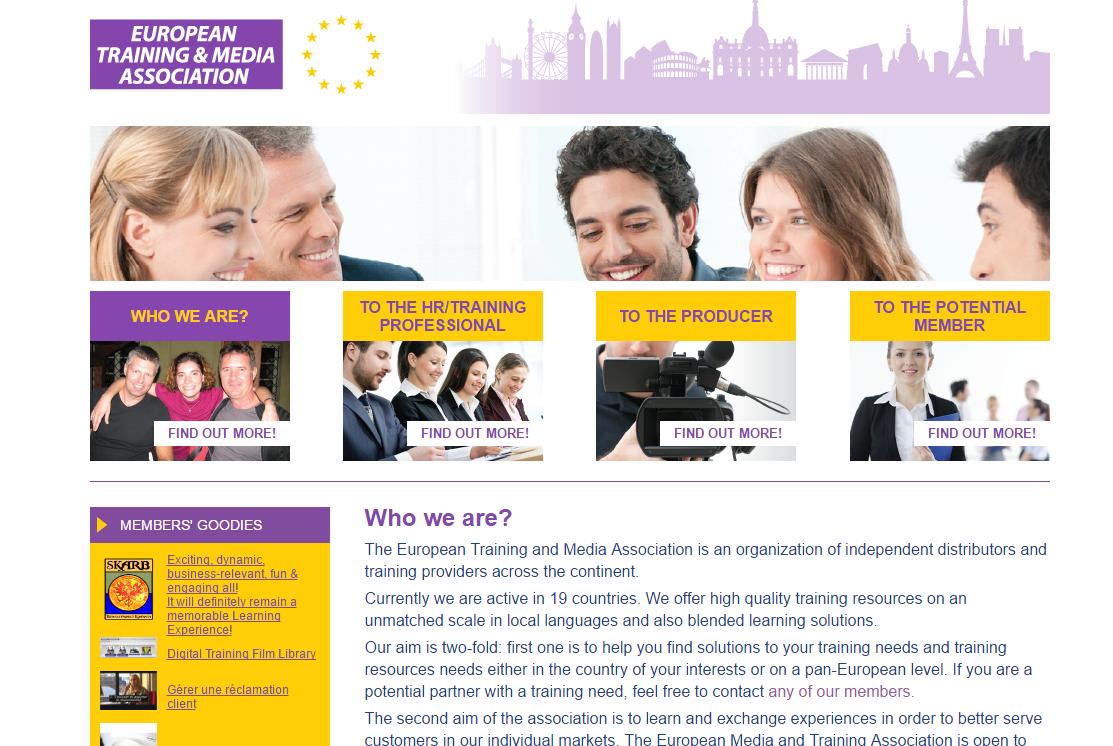 ETMA The European Training & Media Association
